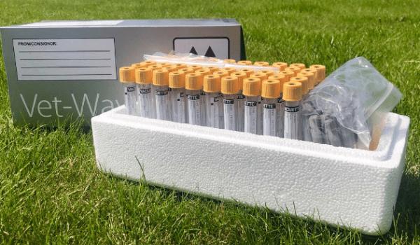 Serum clot activator field kits