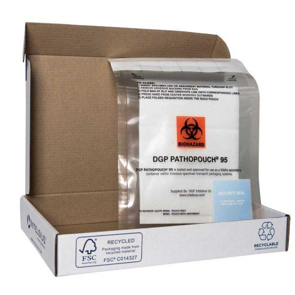 Blood sample postal kit
