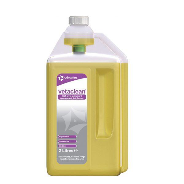 Vetaclean high level instrument disinfectant 2ltr