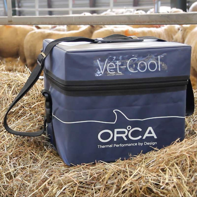 Vet-cool temperature-controlled packaging