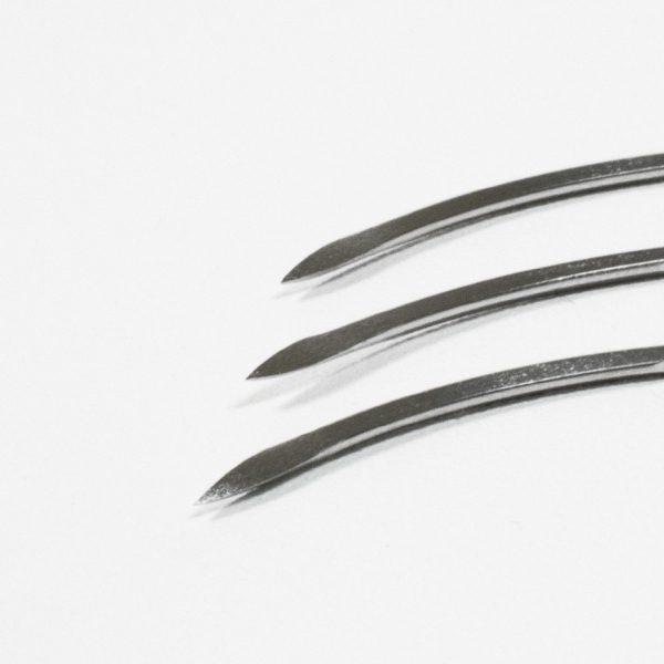 B204 curved triangular cutting spring eyed needle x 3 e1621522041745 curved triangular suture needles