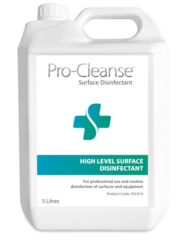 Procleanse surface disinfectant e1621441057483 pro-cleanse high level surface disinfectant x2